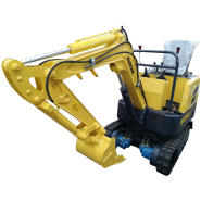 Factory direct sale cheap EV80 engine mini excavator