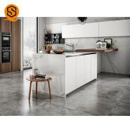 Commercial use antimicrobial Artificial stone kitchen countertop quartz