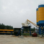 HZS35 hopper type electrical ready mixed business plan fully automatic concrete batching plant price