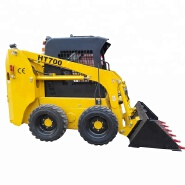 Chinese 700kg mini skid steer loader with low price