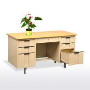 Steel office furniture office table executive ceo organized oval office desk