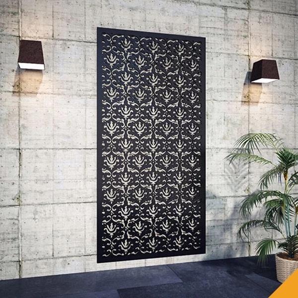 Aluminum Grille Decorative Wall