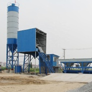 HZS35 container advanced new brand ready mixed Myanmar concrete small concrete batching plant for sale