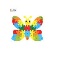 Custom Wooden Alphabet Puzzle Card Toys Eco Friendly Animal Educational Wooden Alphabet Puzzle Card