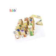 Professional Factory Wooden DominoesTiles Educational Game Children's Fun Play Toy Domino Set