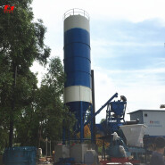 Site installation and fast delivery customizable HZS25 small concrete mixing plant