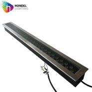 Floor Lighting high quality recessed 48W IP67 Linear Led Inground Light Double line 1M