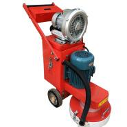 concrete floor polishing machine with vacuum