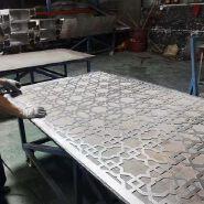 Partition Wall Design Room Divider Aluminium Laser Cut Decorative Screen