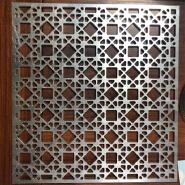 Building Exterior Wall Cladding Carved Aluminum Mashrabiya Wall Screen