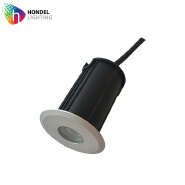 Hondel Mini Type ip67 1w led in-ground light uplight 3000K DC24V for underground lighting