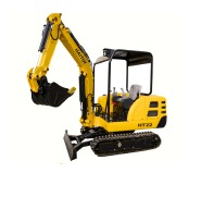 HT22 2.2T chinese small mini excavator for sale