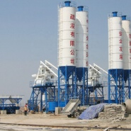 HZS50 modular control system construction mini electrical ready mixed concrete batching plant price