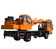 Hydraulic Truck Crane With Good Quality 8ton Home Made Truck Crane