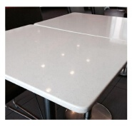 Factory supply quartz restaurant table top slab Guangdong