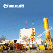 Product Description High efficiency HZS 25 serise ready mix concrete batching plant in china It is the suitable equipment for the medium project construction like construction project, hydropower, ro