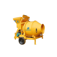 New Machine Mobile Drum JZC 350 Concrete Mixer Price