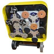 Inverter 4 discs floor grinding machine concrete scarifying grinder polisher machine