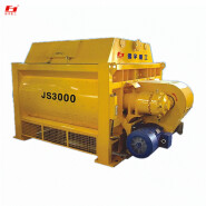JS3000 litre mixer construction equipment large-scale concrete mixing station main components