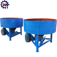 small diesel engine concrete pan mixer machinery price for sale JD350