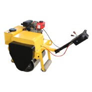 Factory direct sale single drum road roller