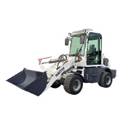 Chinese 0.8 ton mini wheel loader ZL908 with CE certificate