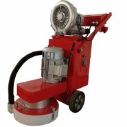 hand push concrete floor grinder pavement polishing machine with vacuuming machine