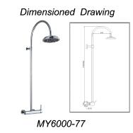 SHANGHAI LANSHENG LIGHT INDUSTRIAL PRODUCTS IMP.&EXP. CO.,LTD. Shower Heads