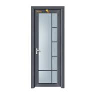SQ Sunnyquick modern designs aluminum glass security house interior single swing doors toilet bathroom bedroom room door