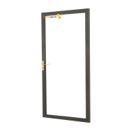 Sunnyquick security aluminum glass swing doors profile aluminium casement door bedroom modern design