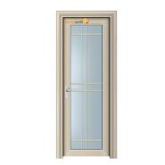 Sunnyquick cheap price aluminum glass single swing doors front door designs for houses skin