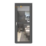 Sunnyquick aluminum glass swing doors and windows aluminium exterior security casement door window