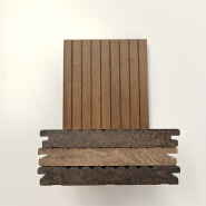 Popular Salable Wood Grain Solid Bamboo Flooring, Best Price Anti-Rotten Carbonized Outdoor Bamboo Flooring/