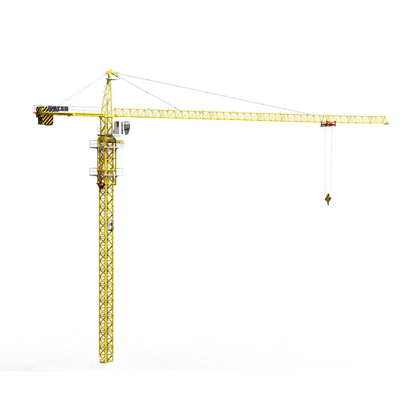 new product 10 ton tower crane TC6016 mobile crane TC6016A for sale