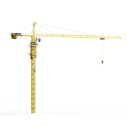 new product 10 ton tower crane TC6016 mobile crane TC6016A for sale