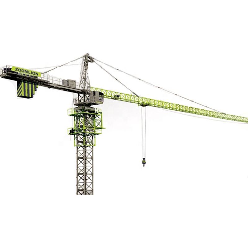ZOOMLION 42ton 80m jib length Hammerhead Topkit Hydraulic Tower Crane D800-42 factory price
