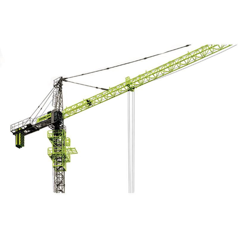 ZOOMLION Hammerhead Erect Tower Crane Foundation 16 ton TC7525-16