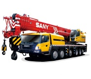 China 100 ton san y mobile crane STC1000S telescopic cranes truck with spare parts for sale