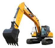 SAN Y 26t hydraulic controller excavator with rock breaker SY265C - Tier 4F / EU Stage IV for sale