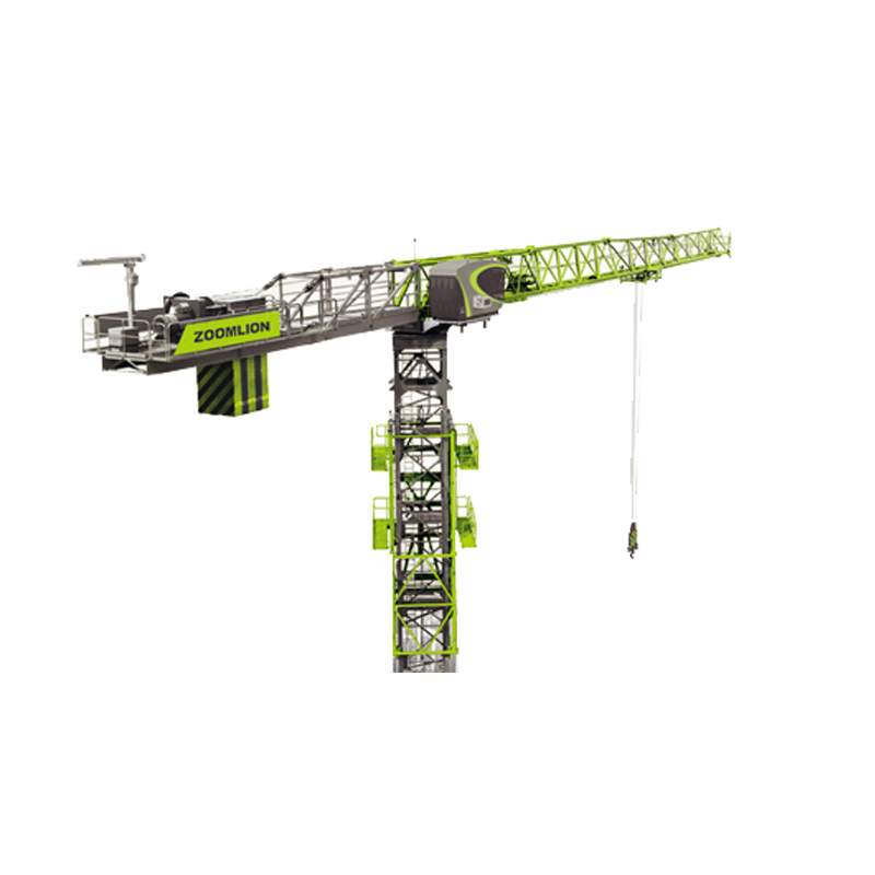 ZOOMLION Telescopic Flat top 20 ton Tower Crane T7527-20 for sale