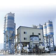 Top product mobile concrete batching plant for construction projet HZS60KY for sale