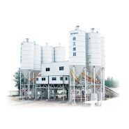 High efficiency new model HZS180 2HZS180 concrete mixing plant in china