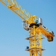Chinese best topless tower crane TC6013P, 60m boom length, 1.3t jib end load for sale