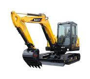 Chinese SAN Y SY55C 5 ton mini crawler excavator SY 55C factory price for sale