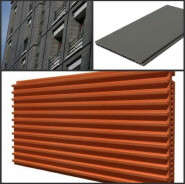 3d flooring terracotta tiles Red bricks self adhesive brick look wall tile for construction