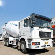 Shacman chassis 8m3 concrete truck mixer