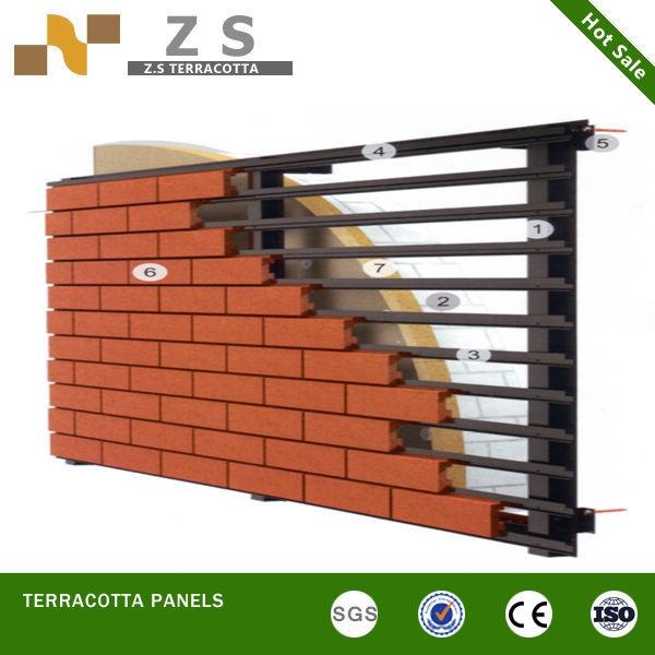 Terracotta Panel Curtain Walls