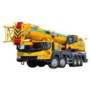 China xcm g 100 ton mobile truck crane xct100 qy100k and spare parts for salee