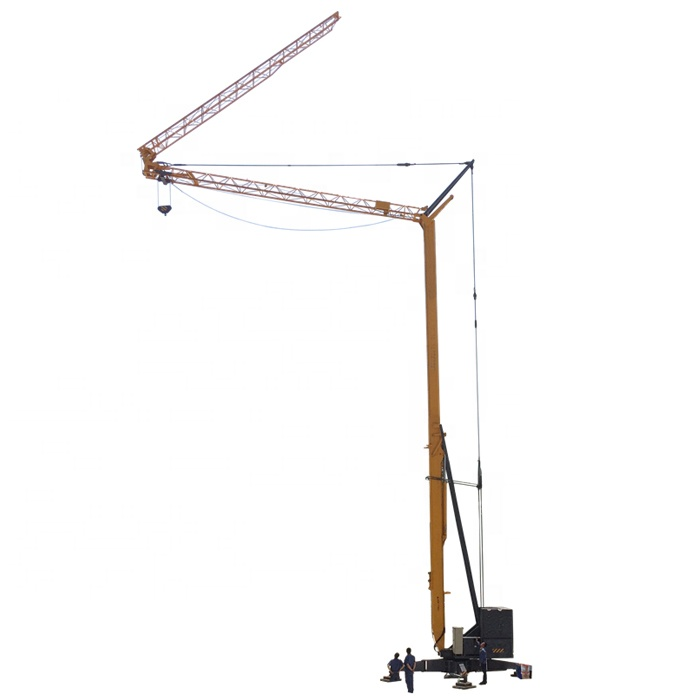 High quality 1t - 3t self stand tower crane used for sale