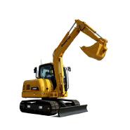 Chinese Shantui SE60 6 ton mini crawler excavator with thumb for sale